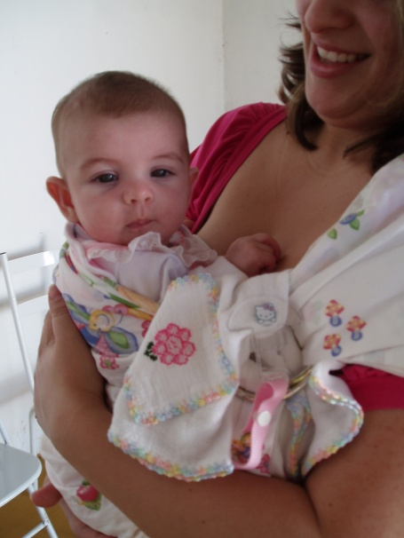 Mamãe feliz bebê feliz!!!